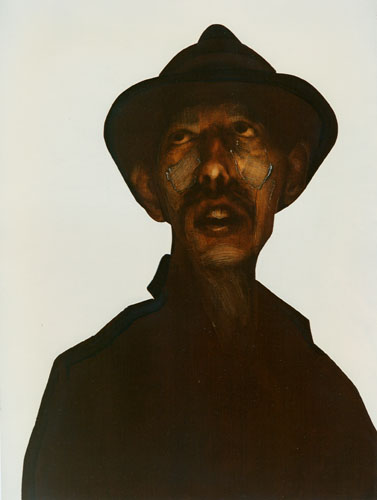 George, 1991, Oil on canvas 48 x 36  inches, Private Collection