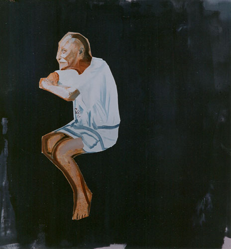 Laura, 1990, Oil on canvas 57 x 54 inches